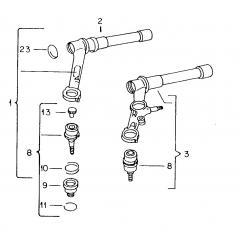 Rotules et bras de suspension -Comby 1968-1979