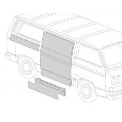 Porte latérale coulissante VW Transporter T25/T3