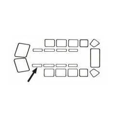 Joint de carrosserie et vitres Vw Bus 50->67
