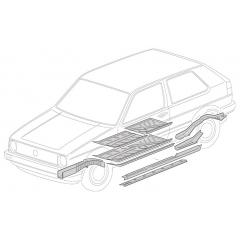 Chassis - Golf2 1983-1992