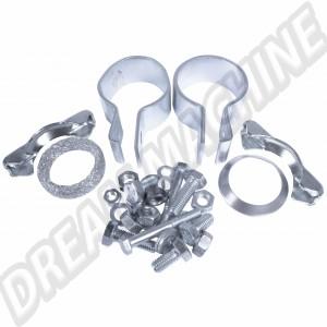 Kit joints et colliers pour tube d'échappement Combi 1500/1600 de 63-->76 211298055B 211 298 055 B | Dream-Machine.fr