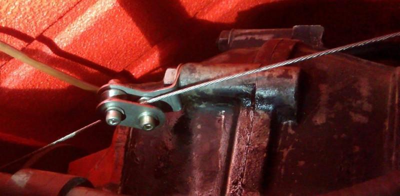 Kit de galet de guidage de câble d'accélérateurVw split  1950-1967 BB103 Sur www.dream-machine.fr