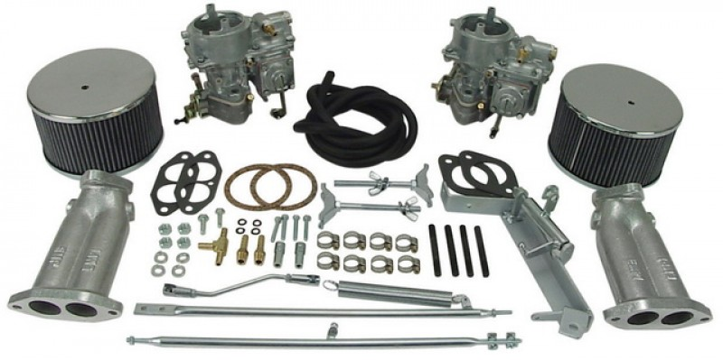 Kit 2 carburateurs Empi double admission 40mm  43-4400-0 Sur www.dream-machine.fr