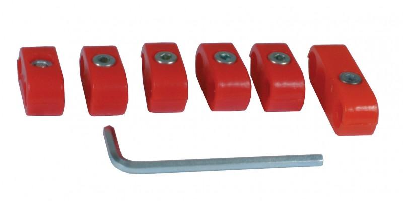 Séparateurs de fils de bougies rouges AC998204 Sur www.dream-machine.fr