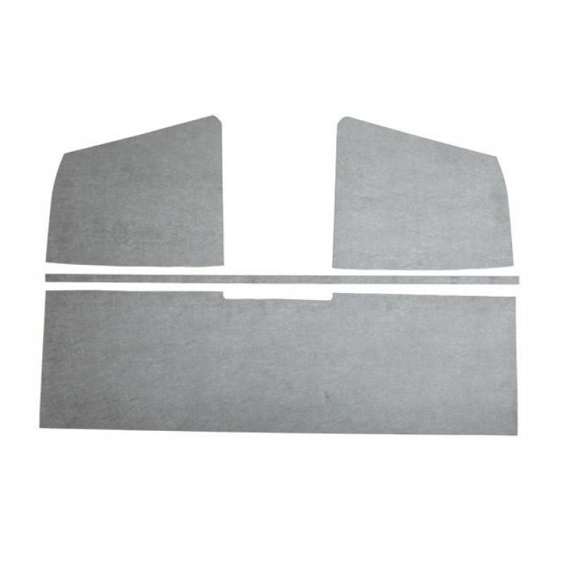 Panneaux de ciel de toit en plastique gris T2 pick-up simple cabine 03/55-->07/67 261867515 Sur www.dream-machine.fr