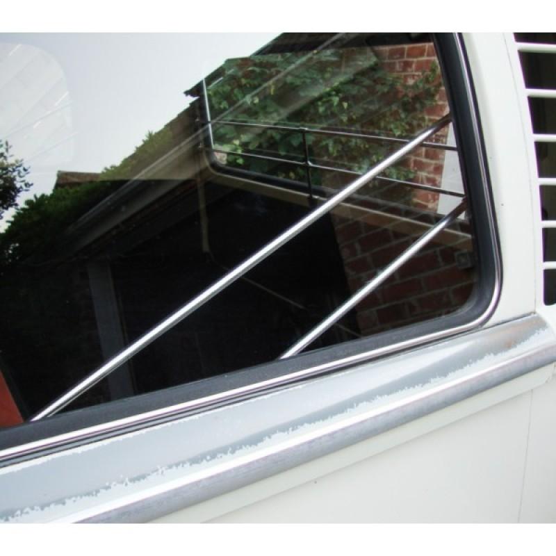 Baguettes en alu poli de protection de vitre latérale T2 68-79 AAC020 Sur www.dream-machine.fr
