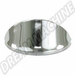Casquette  de phare inox poli 67-->> les2 00-6458-0|  Dream-Machine.fr