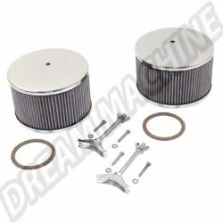 Filtres à air complets pour carburateurs KADRON EMPI, la paire 00-8801-0