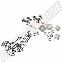 Jeu de pièces coulissantes pour mécanisme de lève vitre, cabriolet, 8.64--->>