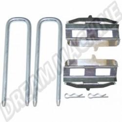111698151BKIT kit montage plaquettes de freins  8/72-
