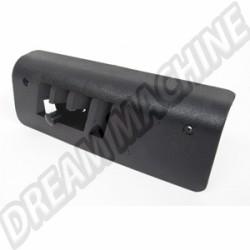 Cache plastique noir de sortie de chauffage du longeron droit 69-77