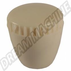 Bouton de réglage de siège ivoire 65---->>71