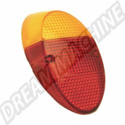 111945241K  Cabochon de feu ar 1200 orange et rouge  europe 8/61-7/67 et 1200 -7/73 (sans marquage CE)