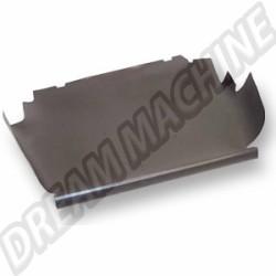 113863509F carton de coffre avant 8/67 pour véhicule sans boite de ventilation (sauf 1302)