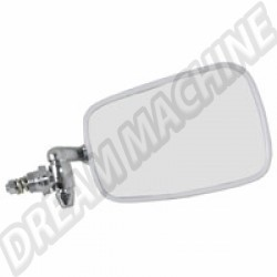 114857513C Rétroviseur Droit 68---->> avec contour en plastique blanc