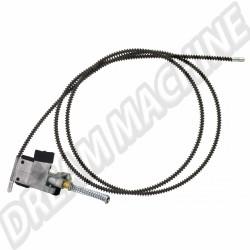 Cable de toit ouvrant droit 63--> sauf 1303 117877306A | Dream-Machine.fr