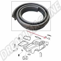Joint de capot arrière pour Karmann Ghia 55 ->74 141 827 705A 141827705A | Dream machine