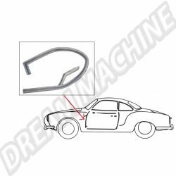 Joint vertical avant gauche pour Karmann Ghia de 56 à 74 141831711A 141 831 711A VW Karmann Ghia  | Dream-Machine.fr