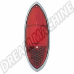 141945227D Cabochon de feu arrière rouge Ghia 60-69