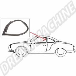 Joints de vitres de portes pour Karmann Ghia Coupé 56 ->59 143 845 341ALR 143845341ALR | Dream machine