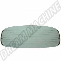 Lunette arrière transparente dégivrante 1303 cabriolet 74-->804x292mm