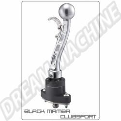 Shifter Black Mamba Club Sport aluminium embase noire