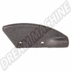 Cache noir arrière droit d'angle de capote pour Golf 1 cabriolet 155871414A