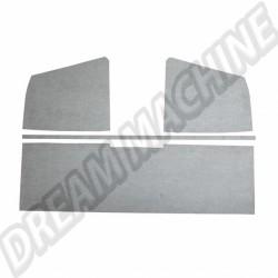 Panneaux de ciel de toit en plastique gris T2 pick-up simple cabine 03/55-->07/67 261867515 261 867 515 | Dream-Machine.fr