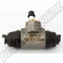Cylindre de roue arrière, 14.29mm, pour les modèles avec freins à tambour sans un régulateur de pression de frein