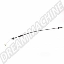 Câble d'accélérateur pour Golf 1 à carburateur 171 721 555 T 171721555T VW
