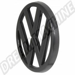 Sigle de calandre 95 mm Noir pour Golf 1 171853601041 171 853 601 041 VW  | dream-machine.fr