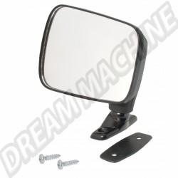 Rétroviseur gauche noir non réglable pour Golf 1 171857501  | Dream-Machine.fr
