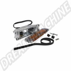 Clignotant de pare-choc glace fume vitre plate (avec marquage CE) Golf 1 et Golf 2 171953055 VW | Dream machine