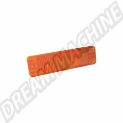 cabochon, orange, clignotant, golf, cabochon clignotant, vitre clignotant, 171 953 141 C, 171953141C, vw golf 1, mecatechnic