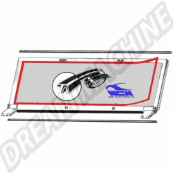 Joint de pare-brise pour VW 181 181 845 119 181845119 - Dream-machine.fr