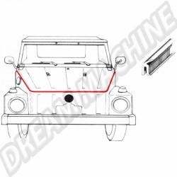 Joint de capot avant pour VW 181 181 823 705 181823705 sur Dream-machine.fr