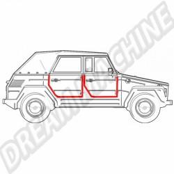 Joint de porte droite pour VW 181 181 837 912 B 181837912B sur Dream-machine.fr