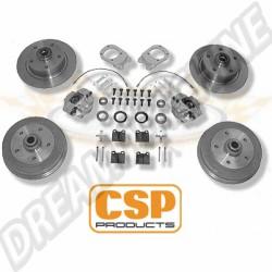 Kit freins à disques avant CSP 4x100 pour modèles 1302/1303