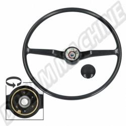 211415651D Volant style origine noir Type 2 74-79