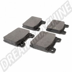 Plaquettes de frein avant pour Combi Bay Window 71 ->72 211 698 151 F 211698151F 211 968 151 D 211968151D 211 968 151 G 211968151G VW | Dream-Machine.fr