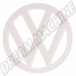 211853601E90D Sigle rond VW plastique blanc 18cm Combi 73-->79