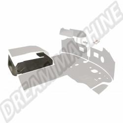 211867765 A Tapis caoutchouc noirs côtés des sièges pour Combi 68 ->79 - par 2
