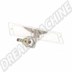 Eclairage de plaque arrière avec le support d'ampoule Combi 68-->71 211943161D | Dream-Machine.fr