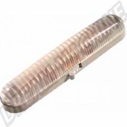 Plafonnier complet avec embase plastique gris T2 -->67