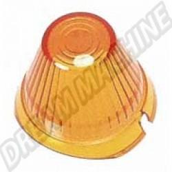 Cabochon de clignotant orange modèle obus
