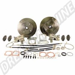 Kit disques arrière(cardans) 4x130 (avec frein à main)