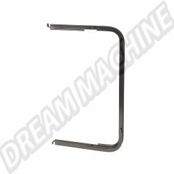 Cadre de déflecteur arrière droit en aluminium Combi de 8.1967 -> 7.1979 221847656 221 847 656  | Dream-Machine.fr