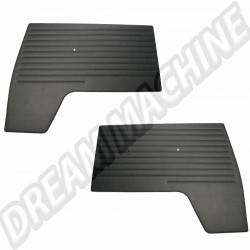 221867011B Panneaux de porte avant en vinyle noir T2-->67