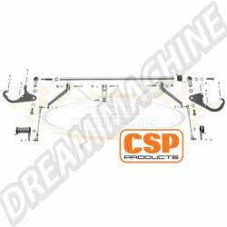 Kit tringlerie CSP pour carbus Weber IDA
