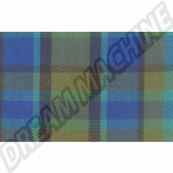 231000020 Tissu de siège Westfalia code 49 bleu/vert